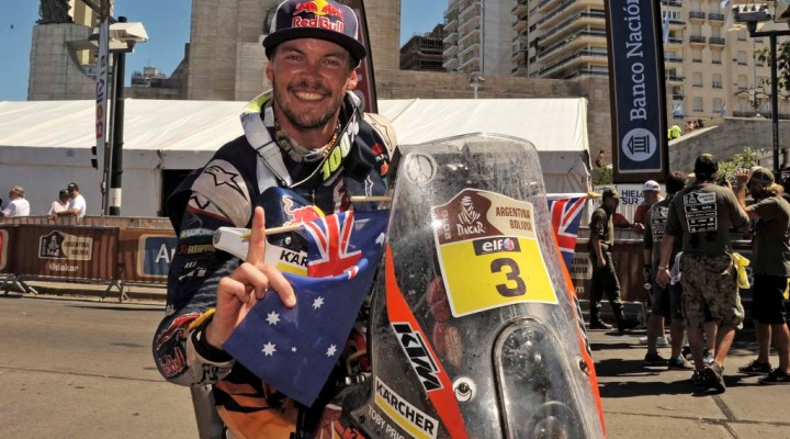 2016 Dakar Rally Stage 13 Toby Price z