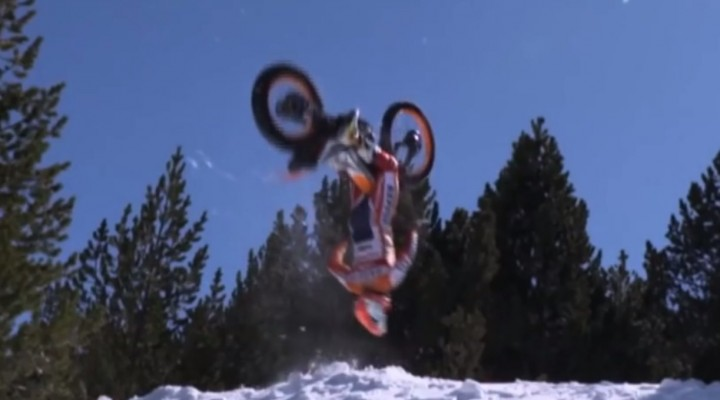 Toni Bou backflip z