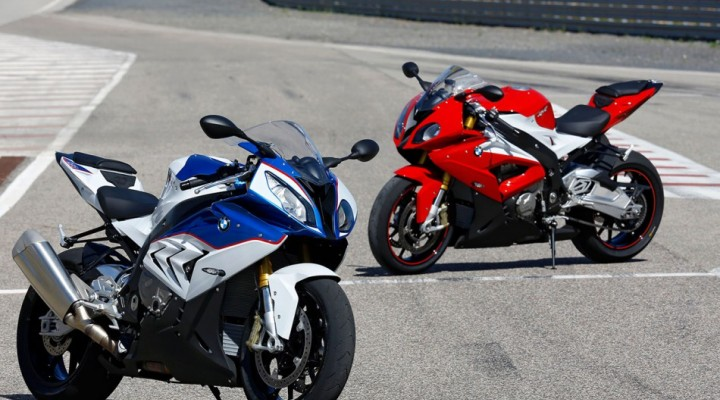 BMW S 1000 RR on Monteblanco z