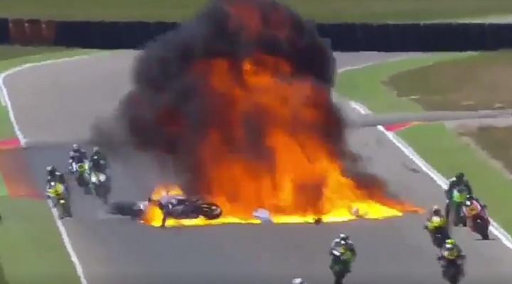 wypadek moto2 z