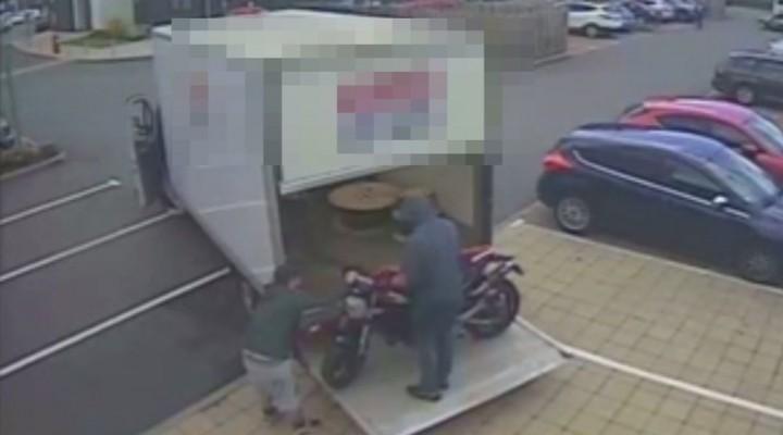 kradziez motocykla z