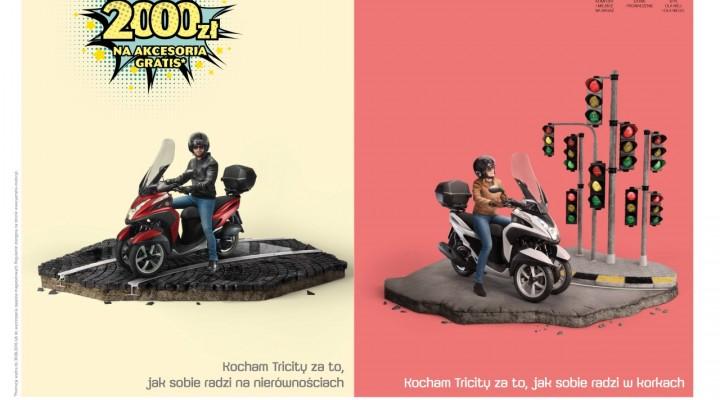 Promocja Yamaha Tricity z