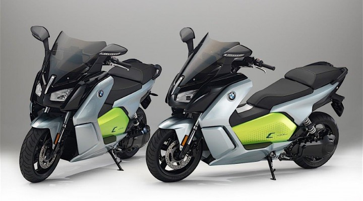 bmw c evolution electric z