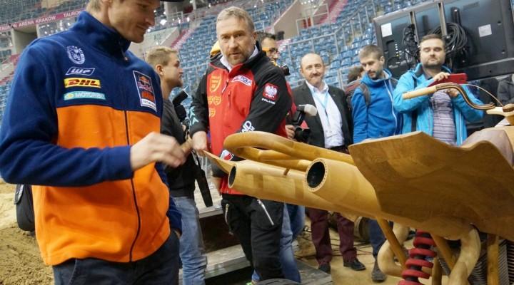 Tadd Sonik quad z drewna z