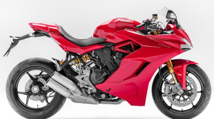 ducati supersport czerwone z