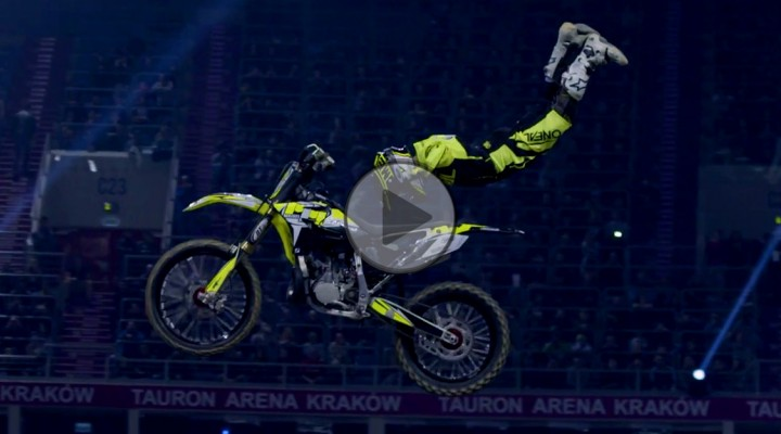 Diverse NIGHT of the JUMPs TAURON Arena Krakow 2017 Maikel Melero z