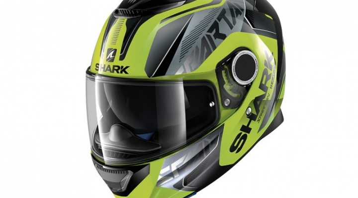 kask integralny shark spartan karken kolor multi zolty z