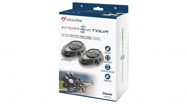 interphone cellularline interphone tour twin pack z