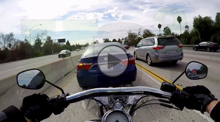 zajechanie drogi motocykliscie z