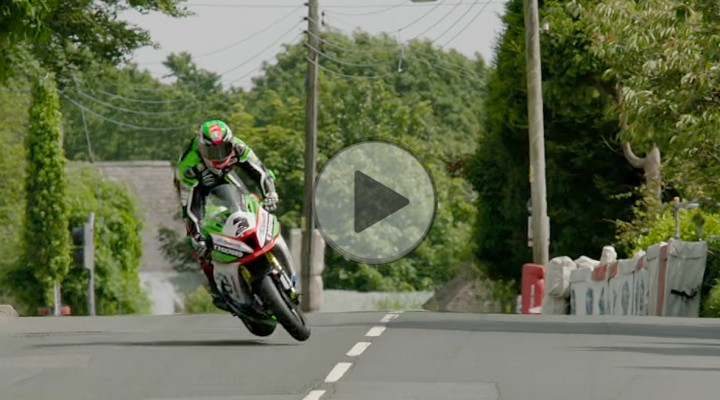 James Hillier close call na Isle of Man TT 2017 z