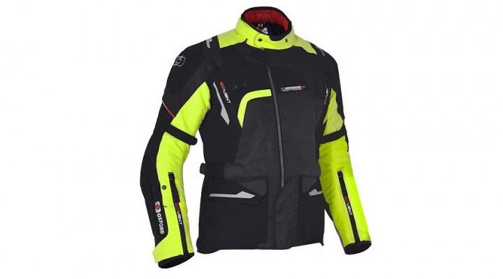 kurtka turystyczna oxford montreal 20 kolor fluorescencyjny z