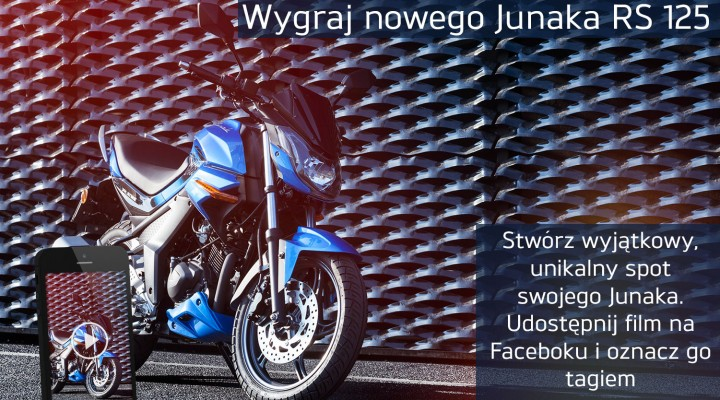 Junak RS 125 konkurs z
