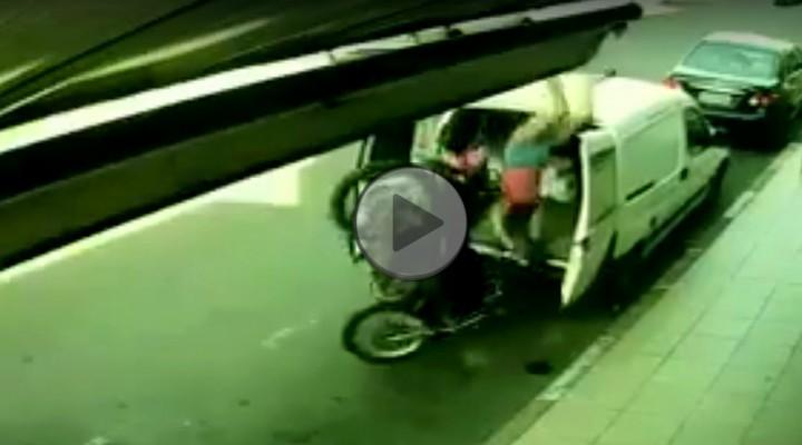 parkowanie na busie z