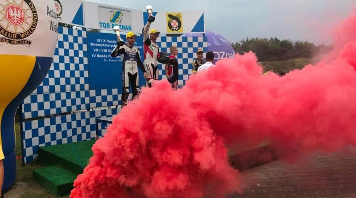 Zawodnicy Dunlopa zdominowali Motocyklowe Mistrzostwa Polski 3 z
