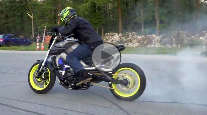 Yamaha MT 09 Turbo i Stunter13 z