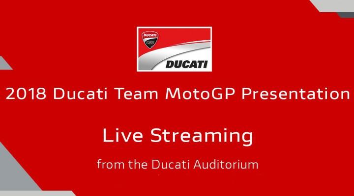 Prezentacja teamu Ducati MotoGP z