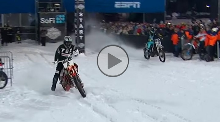 Harley Davidson Snow Hill Climb start z