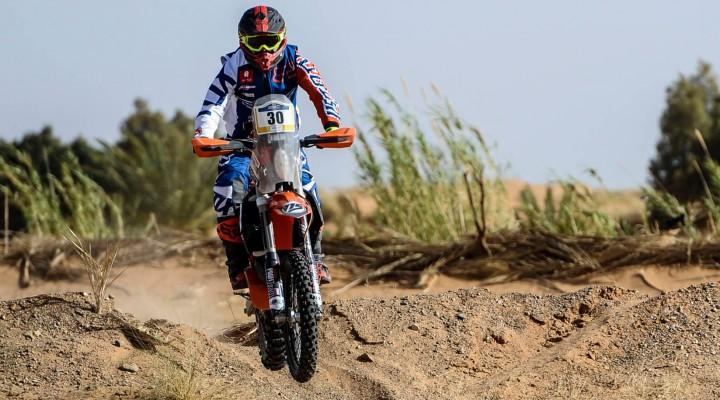 Krzysztof Jarmuz stage 3 Merzouga Rally 2018 z
