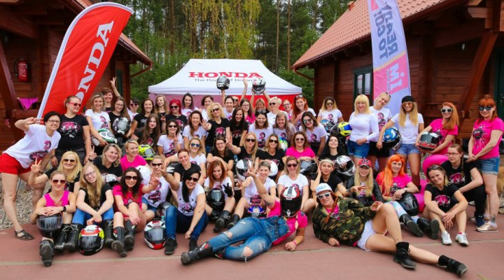 Honda Speed Ladies Camp 1 z