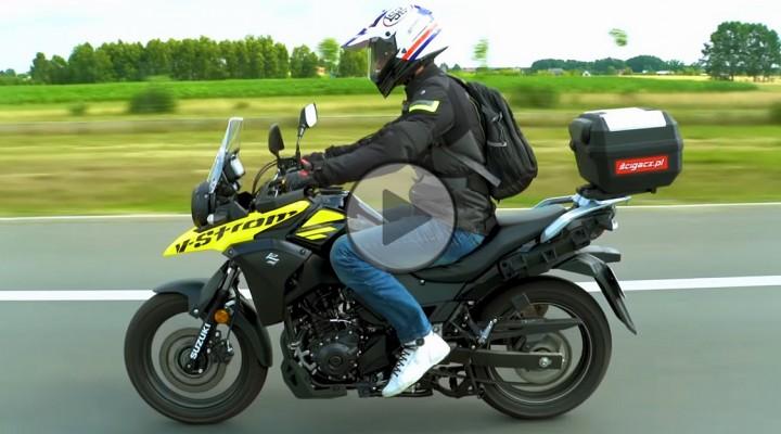 Suzuki V Strom 250 2018 w akcji z