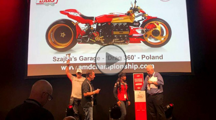 Szajba AMD World Championship of Custom Bike Building z