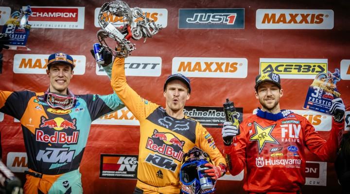 Mistrzostwa Swiata SuperEnduro podium Prestige 2  z