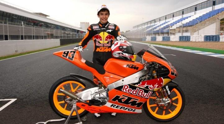 Marc Marquez GP125  z