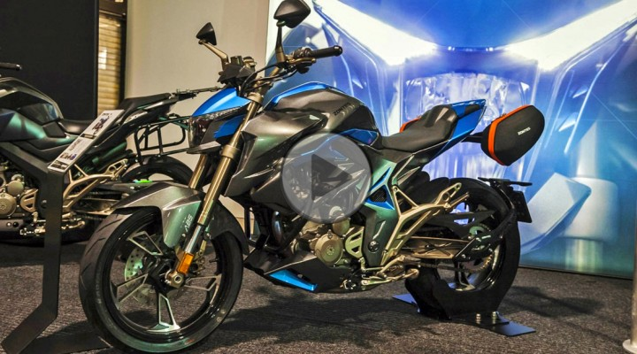 Warsaw Motorcycle Show 2019 Zontes z