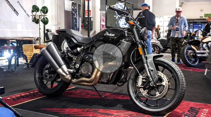 Warsaw Motorcycle Show 2019 Indian z