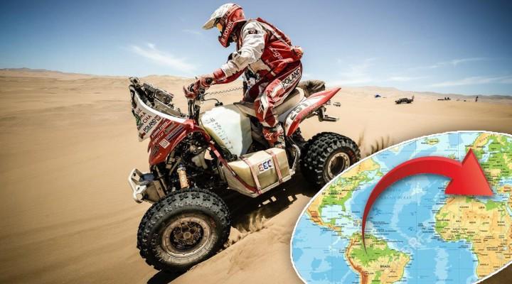 Sonik na wydmach Dakar wraca z