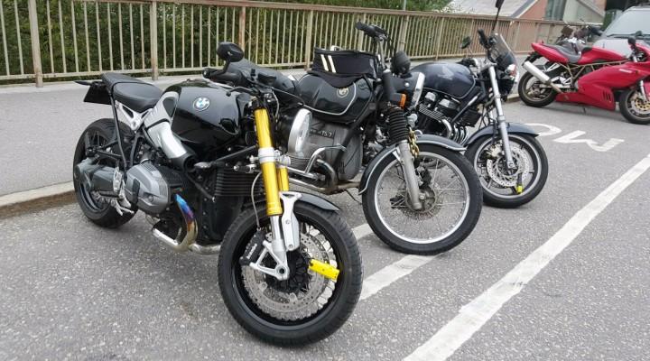parking motocykle z