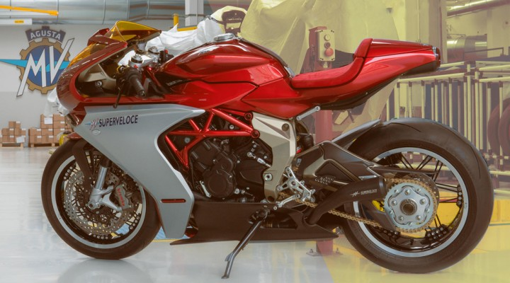 MV Agusta Superveloce Serie Oro sold out z
