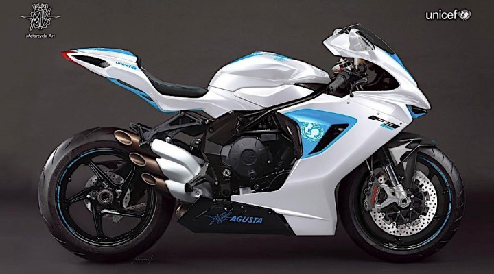 one off mv agusta f3 800 sold for eur100000 at unicef fundraiser gala 1 z