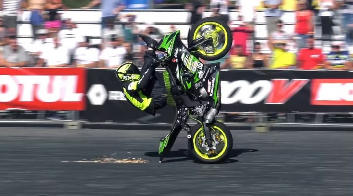 Polish Ninja 1st Place Stunt Riding World Championship z z