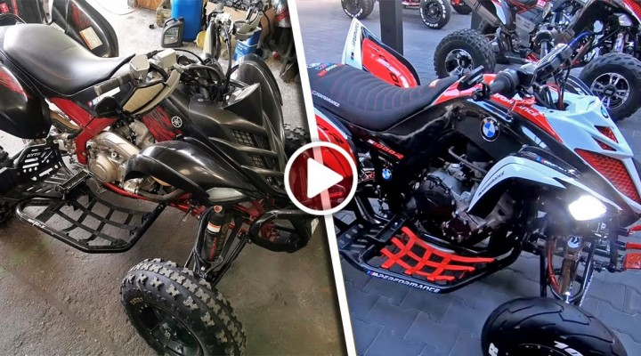 Yamaha Raptor 1000cc SWAP BMW S1000R mini z
