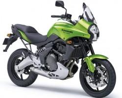 Kawasaki Versys model 2008 dane techniczne