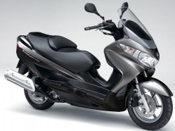 Suzuki Burgman 125 model 2015 dane techniczne