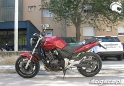Honda CBF 600 model 2006 dane techniczne