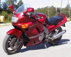 Kawasaki ZZR 600 Model 1998 Dane Techniczne
