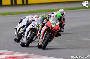 Aprilia SBK Wyscig Moscow Raceway 2012