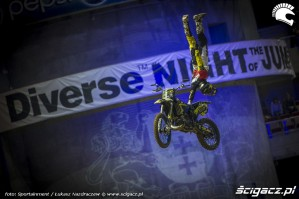 Rob Adelberg na Diverse Night Of Tje Jumps