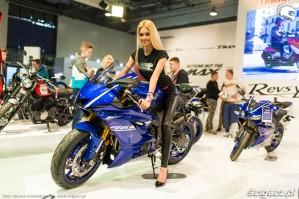 Targi motocyklowe Moto Expo Yamaha R6 2017