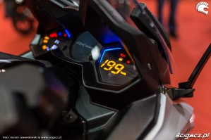 Warszawa Moto Expo 2017 elektroniczne zegary