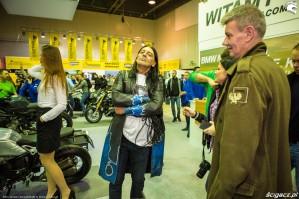 Warszawskie targi motocyklowe 2017 Olek Ostrowski