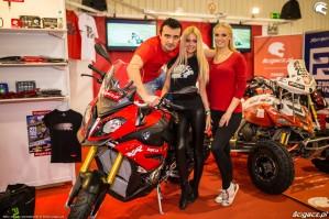 Warszawskie targi motocyklowe 2017 Scigacz pl Barry Hostessy