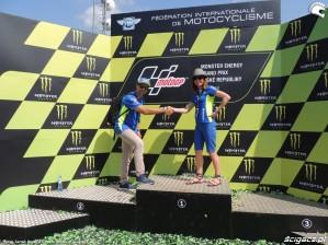 MotoGP Brno 2018 podium Suzuki