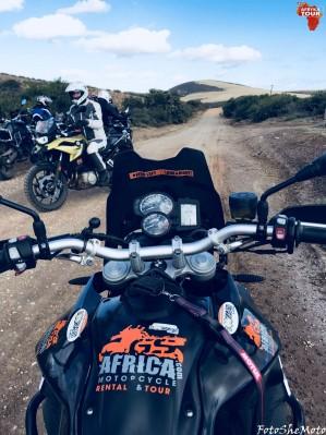 RPA na motocyklu 80