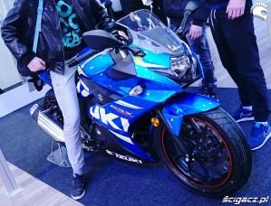 suzuki gsx 250R poznan motor show 2018