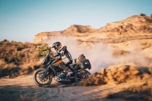 KTM 390 Adventure 2020 kurz bagaze