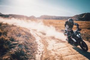 KTM 390 Adventure 2020 kurz prawy zakret off